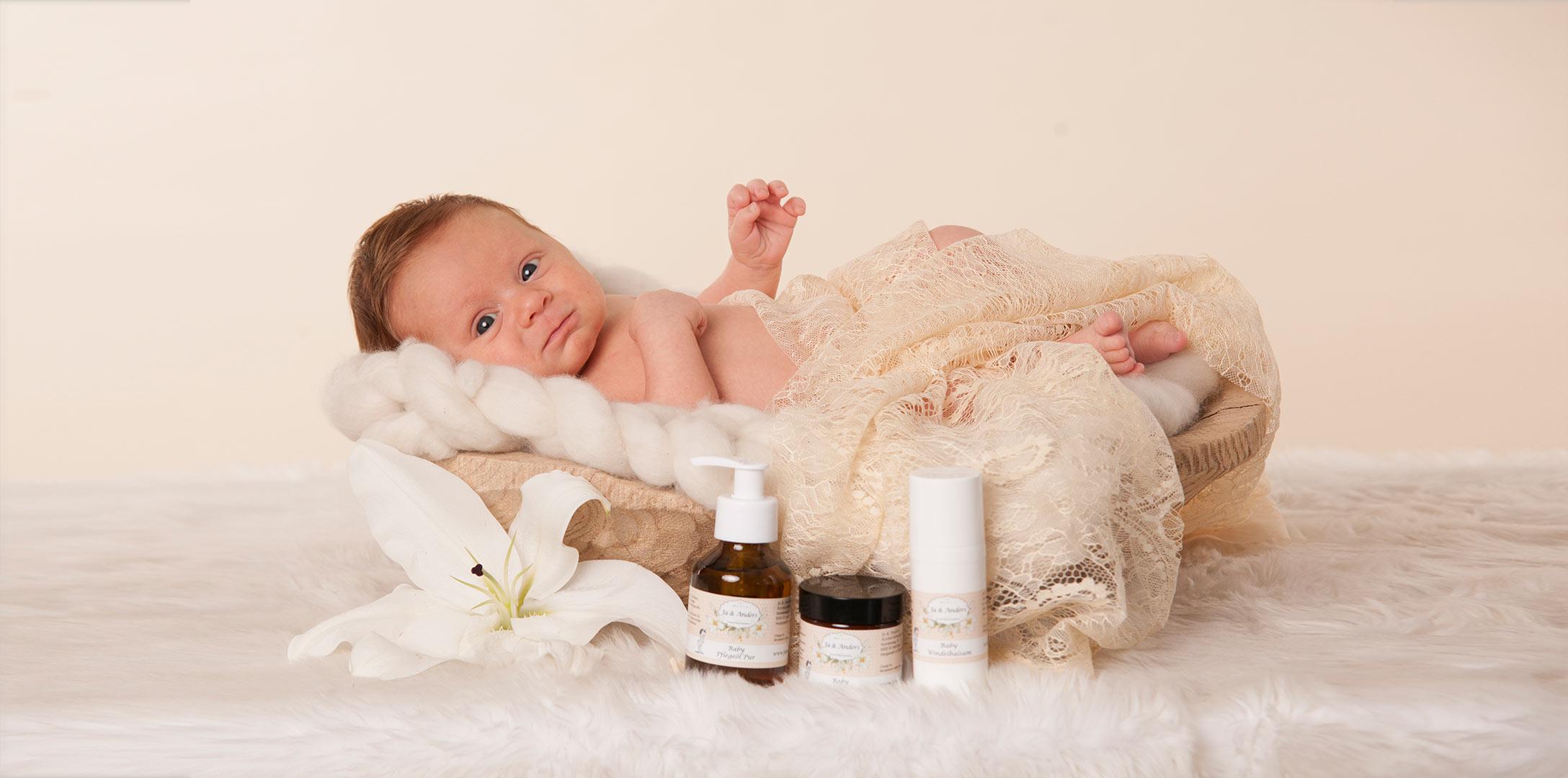 Baby Pflege